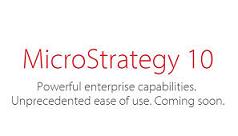 Novedades de MicroStrategy 10